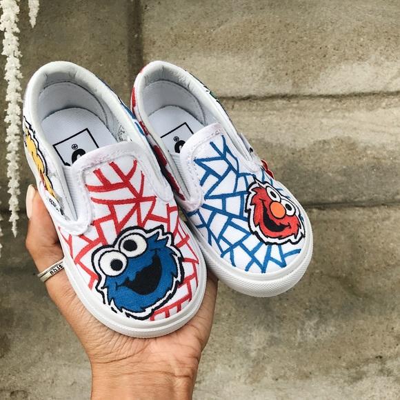 Vans Shoes | Toddlers Sesame Street